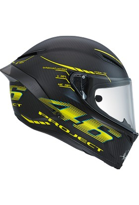 Agv Pista Gp Project 46 2.0 Carbon Matt Kask