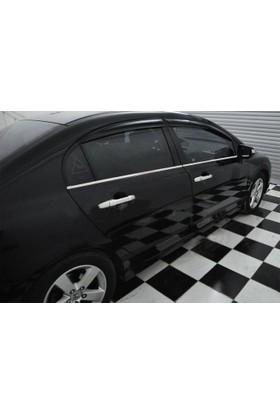 Z tech Honda Civic 2006-2011 Krom Kapı Kolu 4 Kapı