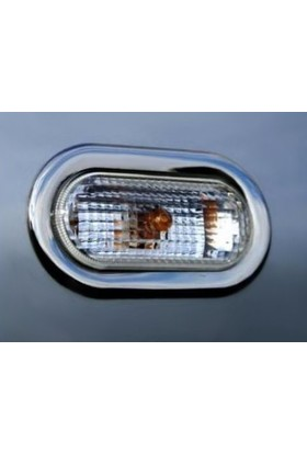 Z Tech Peugeot 206 1998-2012 Krom Sinyal Çerçevesi 2 Parça