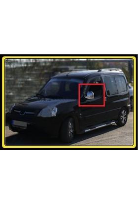 Z Tech Peugeot Partner 1996-2008 Abs Krom Ayna Kapağı 2 Parça