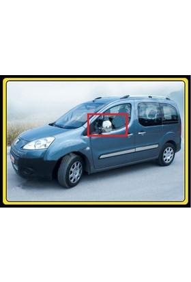 Z Tech Peugeot Partner TEPE 2008-2012 Abs Krom Ayna Kapağı 2 Parça