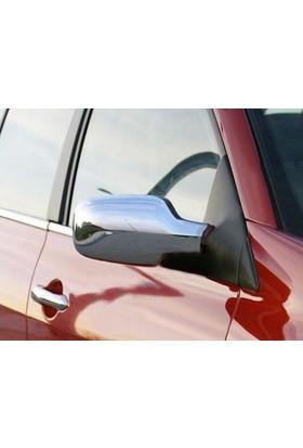 Z Tech Renault Megane 2 2003-2008 Abs Krom Ayna Kapağı 2 Parça