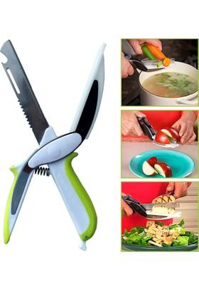 Samrt Cutter 6 in 1 Et ve Sebze Kesme Doğrama Makası Mutfak Makası Dilimleyici