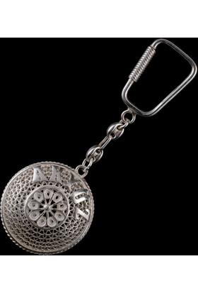 Akyüz Gümüş Telkari Gümüş Anahtarlık Anh017