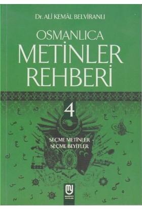 Osmanlıca Metinler Rehberi