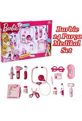 Vardem Barbie 14 Parça Doktor Seti