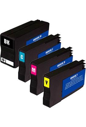 Ekoset HP 950XL-HP 951XL BK-C-M-Y Muadil kartuş 1 TAKIM