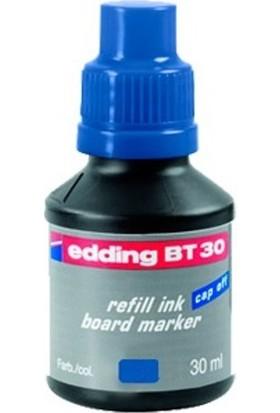 Edding Beyaz Tahta Mürekkebi 30 Ml E-Bt30 Mavi