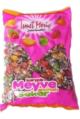İsmet Meriç Karışık Meyveli 1Kg Bayramlık İkramlık Bonbon Şekeri