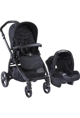 Kraft Book Plus Travel Sistem Bebek Arabası - Siyah