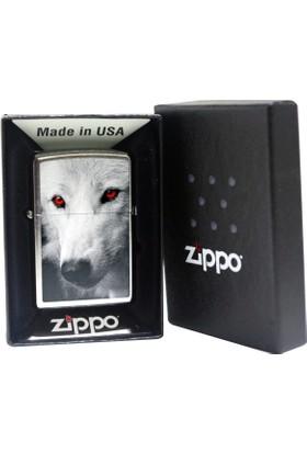 Zippo Çakmak Wolf Red Eyes 28877