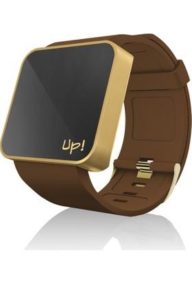 Upwatch TOUCH Gold&Brown Unisex Kol Saati