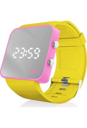 Upwatch Pink&Yellow Unisex Kol Saati