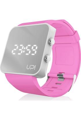 Upwatch White&Pink Unisex Kol Saati