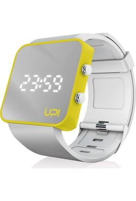 Upwatch Yellow&White Unisex Kol Saati
