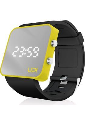 Upwatch Yellow&Black Unisex Kol Saati