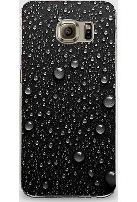 Dynamics Samsung Note 5 Kapak Yağmur Damlaları Desenli Arka Kapak