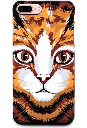 Dynamics iPhone 7 Plus Kılıf - Air Jacket Luxo Kedi Desenli Arka Kapak