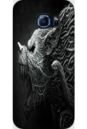 Dynamics Samsung Galaxy S7 Edge Kılıf Canavar Desenli Arka Kapak