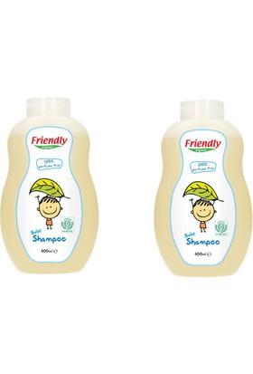 Friendly Organic Bebek Şampuanı Parfümsüz 400 ml 2 Adet
