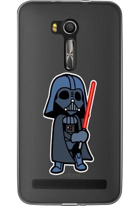 """MobilGiydir Asus ZenFone Laser 6"""" Star Wars Işın Kılıcı Silikon Kılıf"""