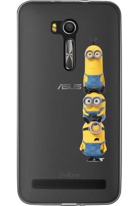 MobilGiydir Asus ZenFone 3 Kule Minion Silikon Kılıf