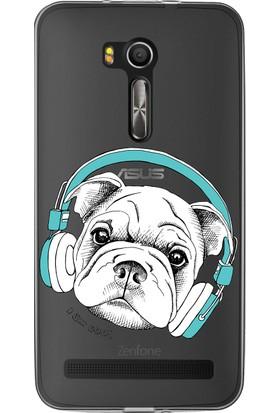 MobilGiydir Asus ZenFone 3 Cool Köpek Paşa Silikon Kılıf