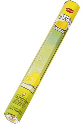 Hem Tütsü Lemon Incense Sticks - Limon Tütsü 20 Adet
