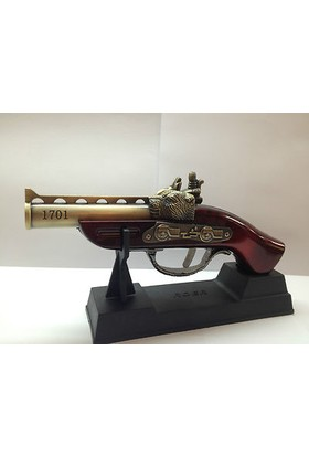 Roer Antique Gun Pistol Model Jet Torch Lighter 1701 Tabanca Çakmak