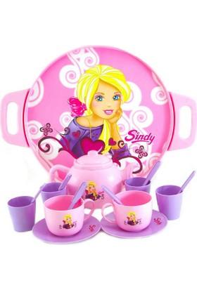 Sindy Kız Çocuk Evcilik Oyuncağı Sindy Çay Seti 17 Parça