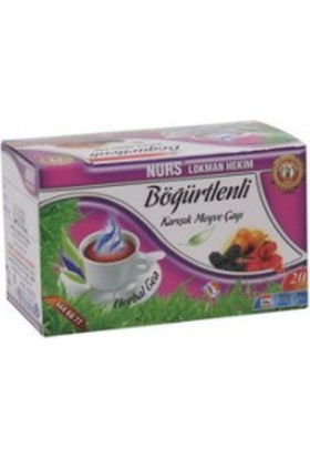 Nurs Lokman Hekim Bodurotlu Karışık Bitki Çayı (Şeker Çayı) 20'li