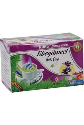 Nurs Lokman Hekim Ebegümeci Bitki Çayı (Solunum Sistemi Çayı) 20'li