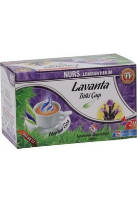 Nurs Lokman Hekim Lavanta Bitki Çayı (Yatıştırıcı Çayı)