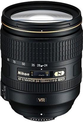 Nikon Af-S 24-120Mm F/4G Ed Vr Lens İthalatçı Garantili