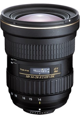 Tokina At-X 14-20Mm F/2 Pro Dx Lens Canon Uyumlu
