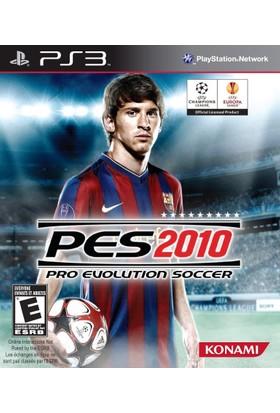 Pro Evolution Soccer 2010 Pes 2010 Ps3