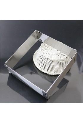 Nar Ayarlanabilir Kare Pasta Kalıbı 20x40x10cm