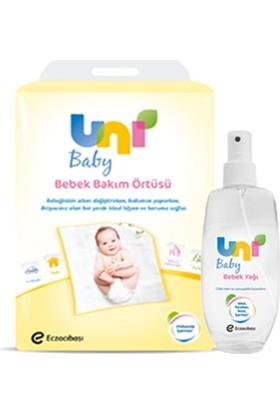 Uni Baby Bebek Yağı 200 ml - Bebek Bakım Örtüsü 10'lu