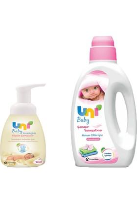 Uni Baby Yumuşatıcı 1500 ml - Yenidoğan Köpük Şampuan
