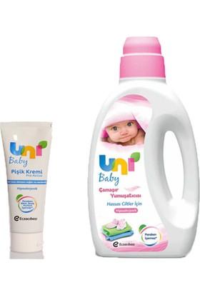 Uni Baby Yumuşatıcı 1500 ml - Pişik Kremi 75 ml