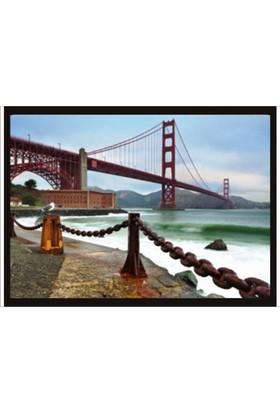 M3 Decorium Golden Gate Poster - 70 X 100 Cm