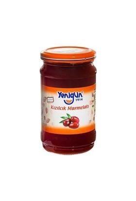 Yenigün Kızılcık Marmelatı - 380 gr (Bol Meyveli)