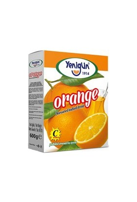 Yenigün Portakallı Toz İçecek 600 gr