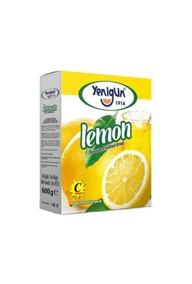 Yenigün Limonlu Toz İçecek 600 gr