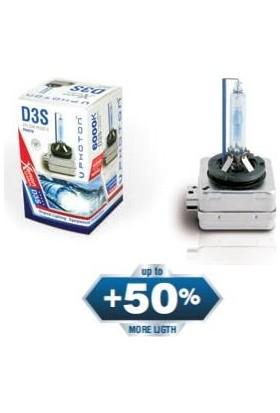 Photon D3S 4300K Xenon Ampulu +50 Fazla Işık 2 Adet