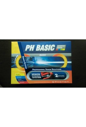 Photon Ph Basıc H4 30000K Koyu Mavi Xenon Set