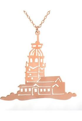 Paşa Home Kız Kulesi Kolye (Yeni)