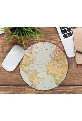 iF Dizayn Dünya Haritası Tasarım Mouse Pad