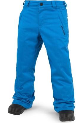 Volcom Explorer Insulated Çocuk Snowboard Pantolonu - Mavi