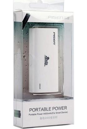 Pisen Powerbank Taşınabilir Şarj Cihazı 6600 mAh TS-UC024